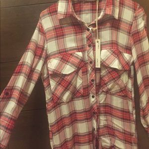 Tops - NWT Flannel Shirt